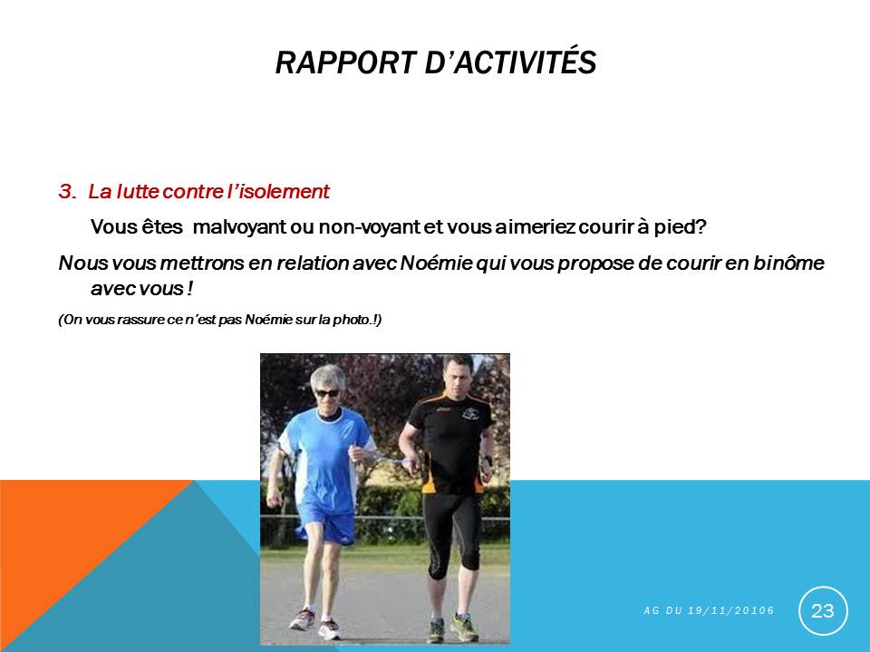 Photo de course en duo