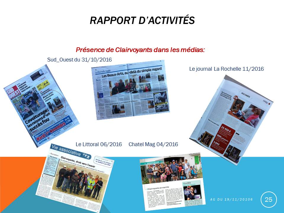 Photos d'articles de presse